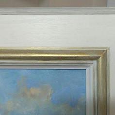 Handfinished frame