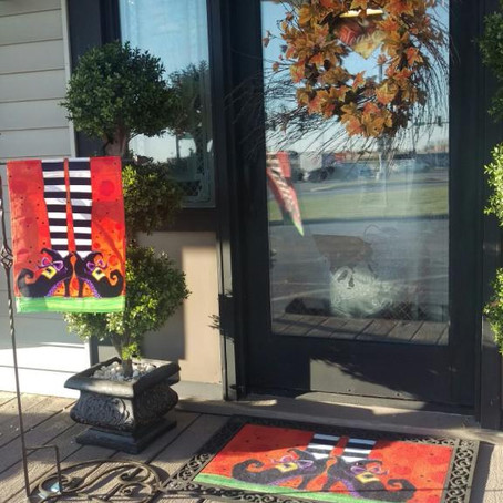 Spruce up your front porch for Fall