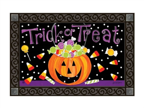 Halloween Candy Decorative Door Mat