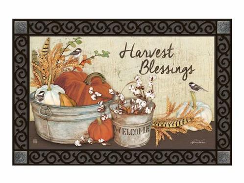 Harvest Blessing Doormat