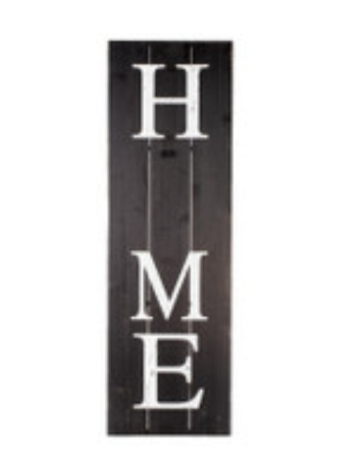 "Black ""HOME"" Gallery Board"