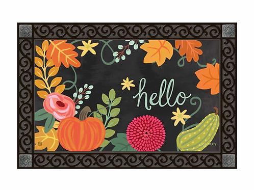 Boho Fall Doormat