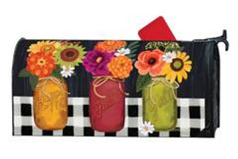 Autumn Blooms Mailbox Cover