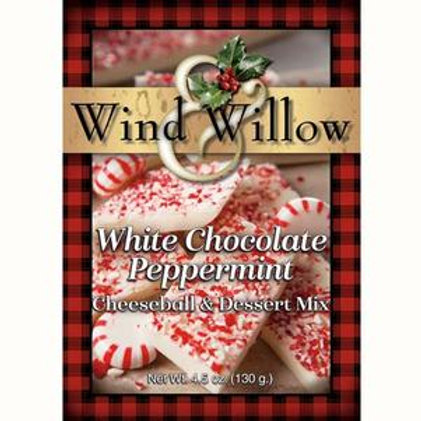 White Chocolate Peppermint Cheeseball & Dessert Mix