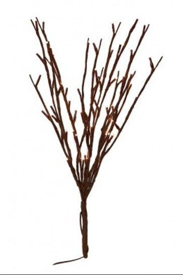 """20"""" Willow Lighted Branch"""