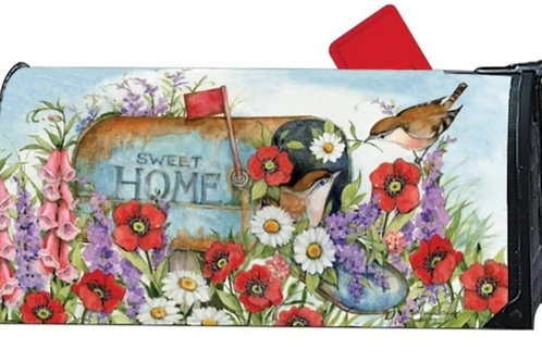 Sweet Home Mailbox Cover