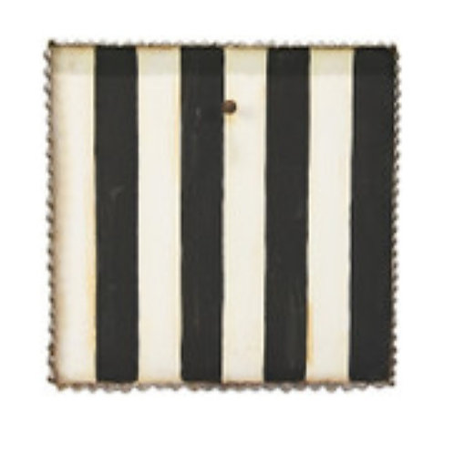 Black & White Striped Gallery Board