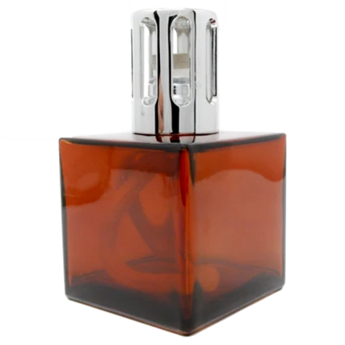 Lampe Cube Amber