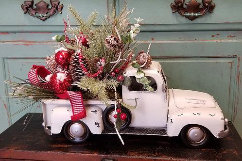 White Christmas Truck