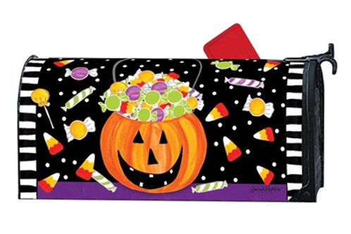 Halloween Candy Mailbox Cover
