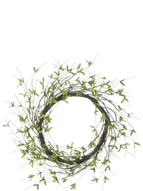 Twig Leaf Wreath