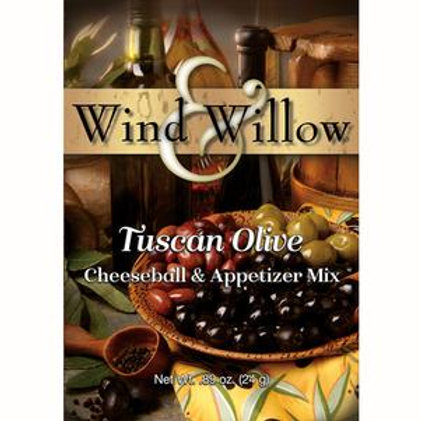 Tuscan Olive Cheeseball & Appetizer Mix