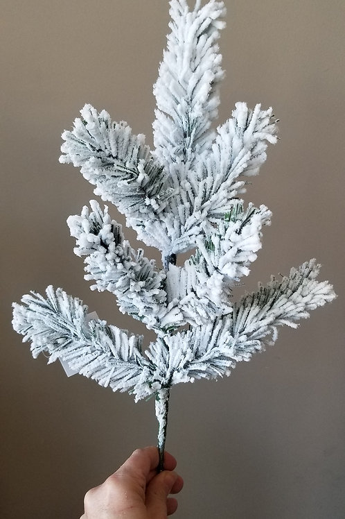 Small Flocked Pine Stem