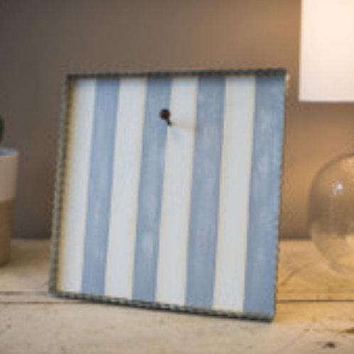 Gray & White Striped Gallery Board