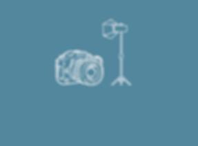Producción de fotografía, equipo profesional
