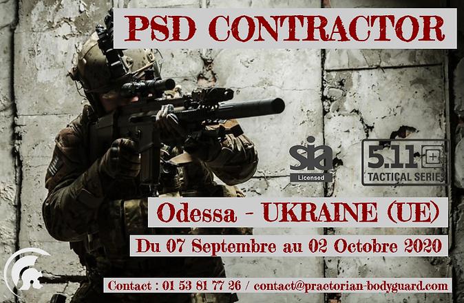 Formation Contrator en UKRAINE