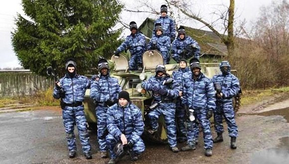 PMC Contractor Training in Russia 2012