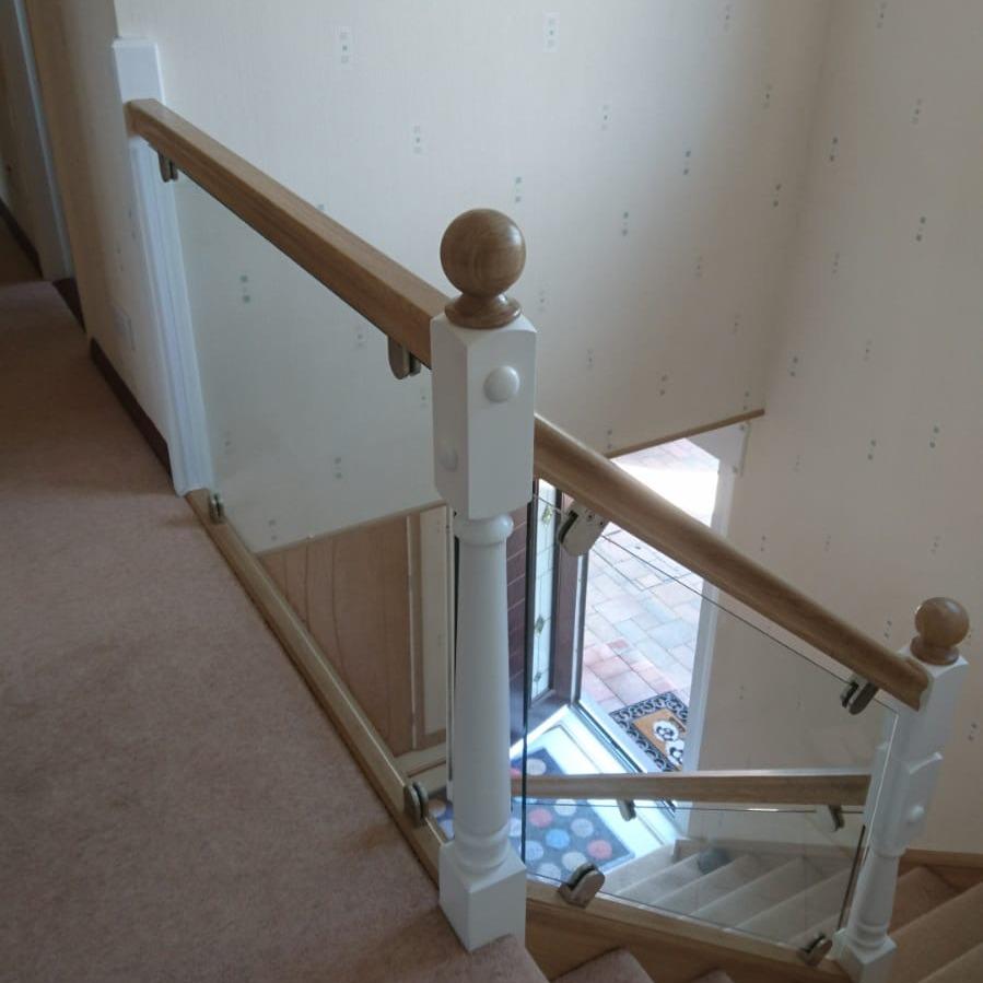 handmade staircase oak