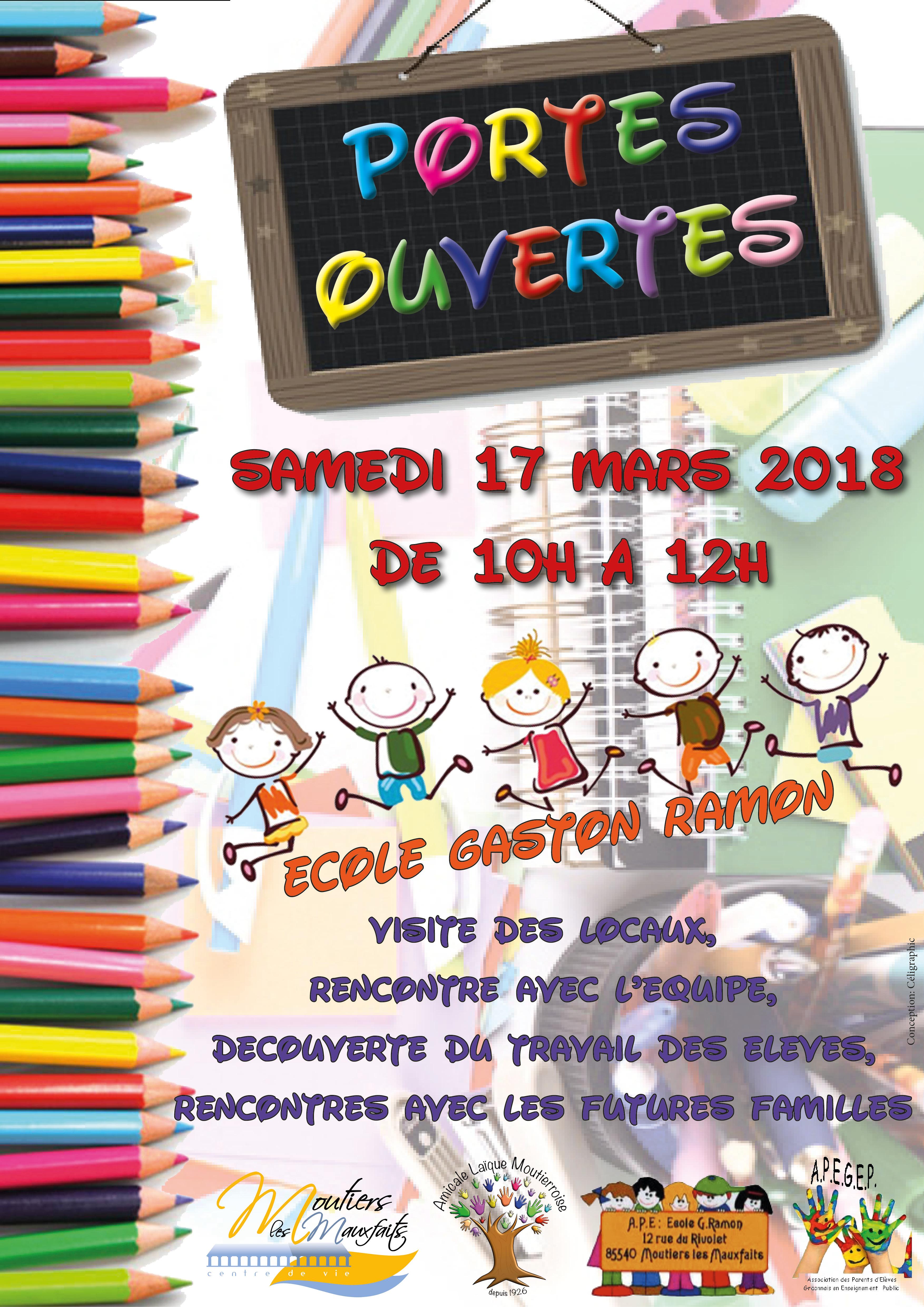 Portes ouvertes école Gaston Ramon