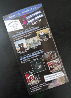 Brochure des manifestations