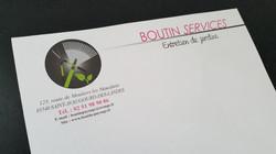 Tête de lettre Boutin Services