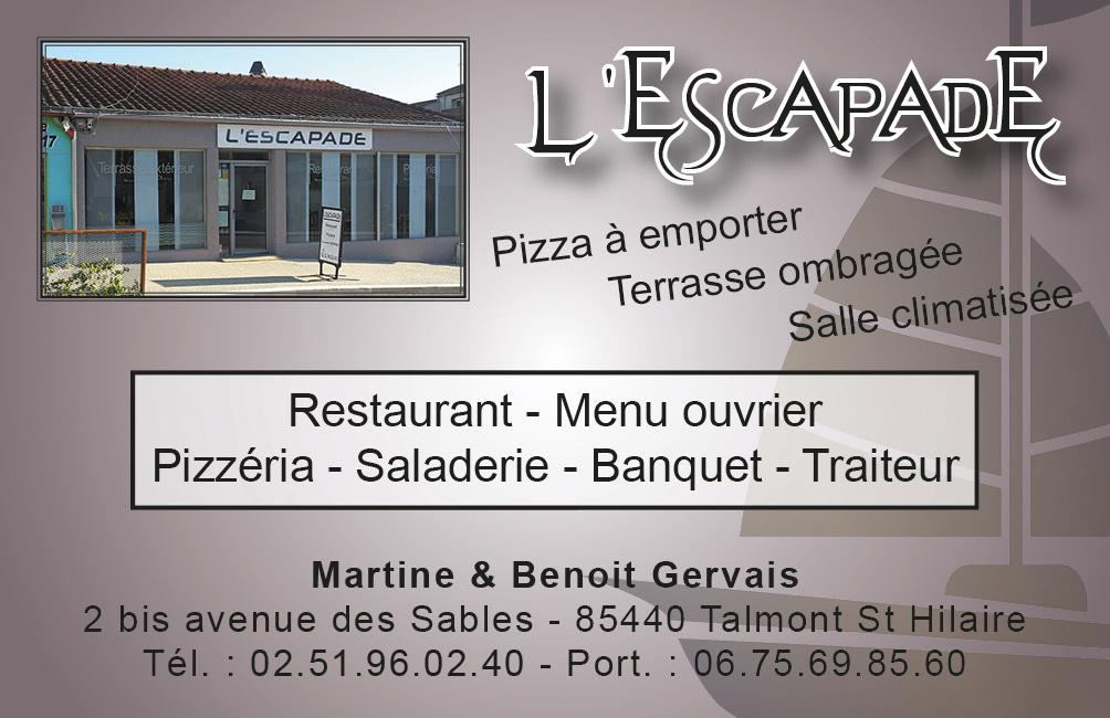 Carte de visite l'Escapade