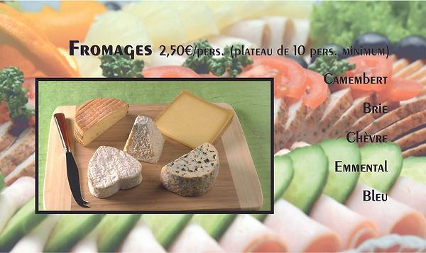 Fromages traiteur