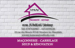 Carte de visite Jérémy Jumeau