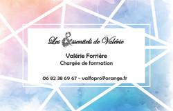 Carte de visite Valérie Forrière