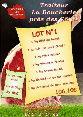 Affiche A3 Traiteur Boucherie