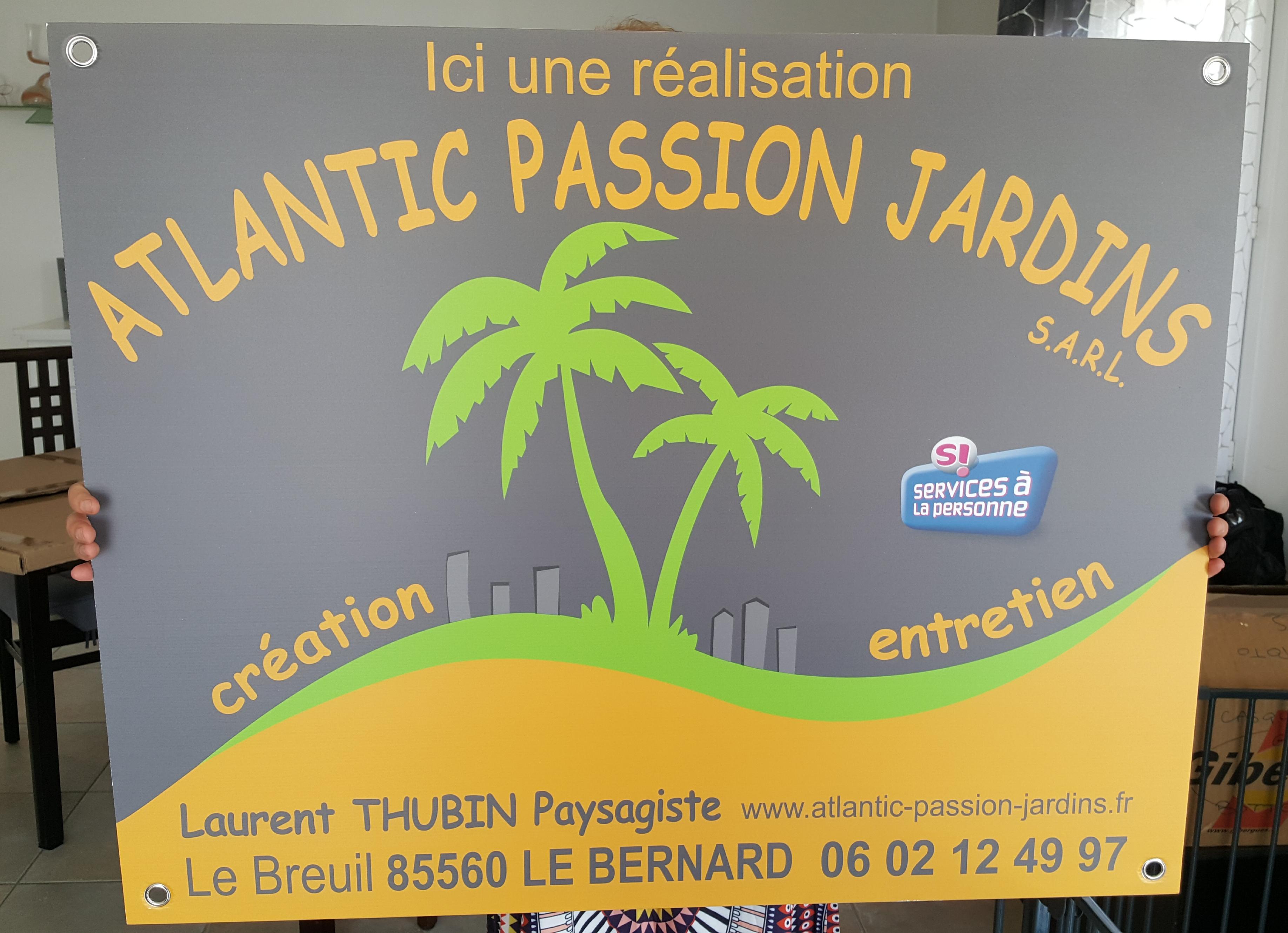 Panneau 80x100 Atlantic Passion...