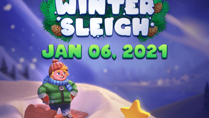 Winter Sleigh Comes Out on Steam in Less Than 3 Days!