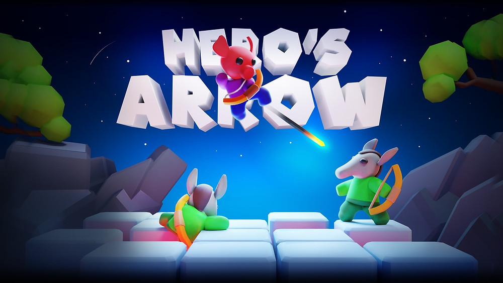 Hero's Arrow - a game about cute animals and archery.