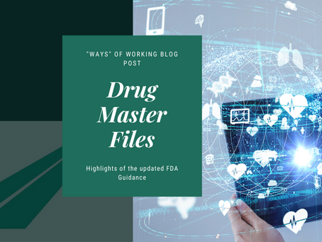 Drug Master Files: Highlights of the Updated FDA Guidance
