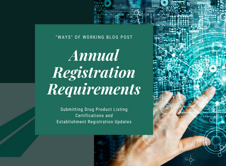 Annual Registration Renewals: Ensuring Compliance to Avoid Inactivation