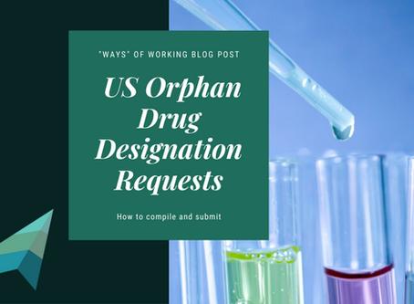 Compiling US Orphan Drug Designation Requests