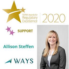 PR Tile Allison Steffen TOPRA 2020 Winne