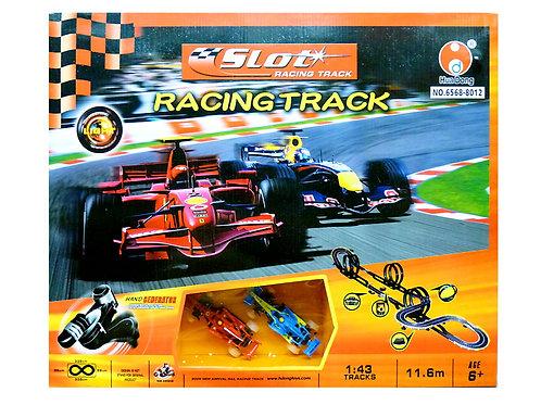 10-843-9 Трек гоночный+машинка на бат. в кор. 8012