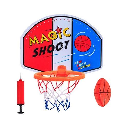 11-545 Набор для игры в баскетбол (корзина. щит. мяч. игла.