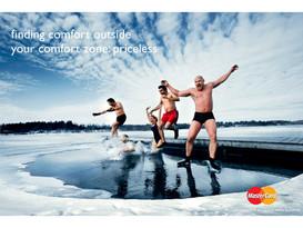 Mastercard advertisment Helsinki by Sydney advertising photographer Gary Sheppard