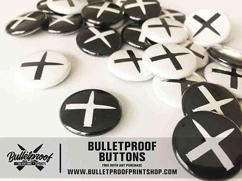 """Bulletproof """"Cross Bullets"""" Buttons"""