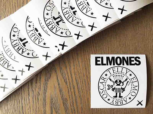 "Elmones ""Brush Your Teeth"" Stickers"