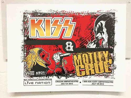 Kiss/Motley Crue Concert Poster