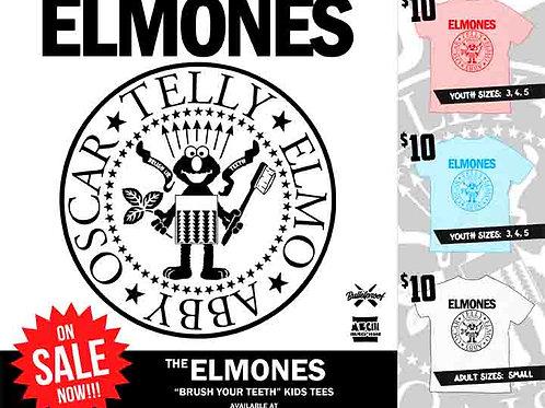 """The Elmones """"Brush Your Teeth"""" Kids Tees"""