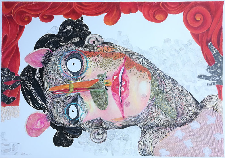 Marlise Keith, Breathing holes – an empty knight, 2021. R23 000.00 VAT incl.