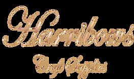 Harribows Craft Supplies logo font svg n