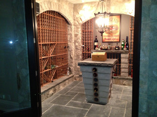 Indoor Stone Projects | MK Art Stone Construction Inc