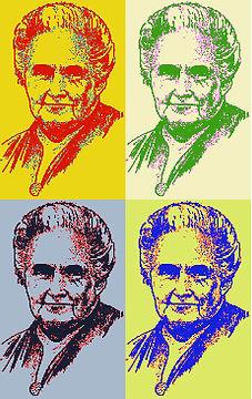 Maria Montessori Warhol