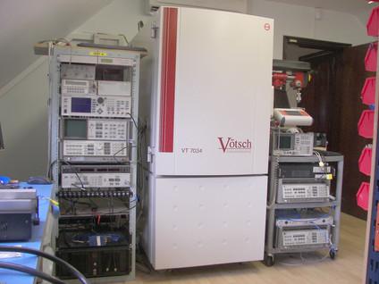 Environmental ATE Test Facility