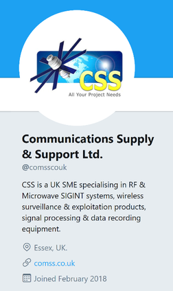Follow Us on Twitter: @comsscouk